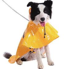Dog Raincoats Adjustable And Lightweight Dot Dog Raincoat