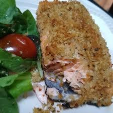 Panko Parmesan Salmon Recipe