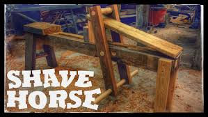 shaving horse plans. building a traditional shave horse (or shaving horse) plans