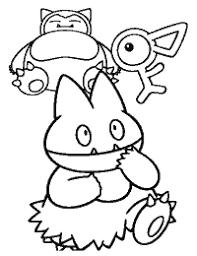 Pokemon Paradijs Kleurplaten Kleurboek Coloring Book Sinnoh