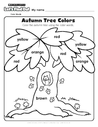 Lovable Fall Tree Coloring Pages Dreadeorg