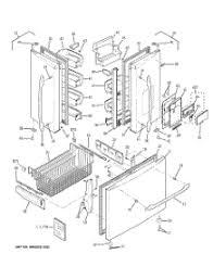 parts for ge pfssnjwass refrigerator com 01 doors parts for ge refrigerator pfss5njwass from com