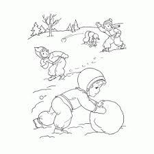 Winter Kleurplaten Wel Bijna 50 Leuk Voor Kids