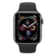 умные часы Apple Watch S4 44mm Space <b>Gray</b> Aluminum <b>Black</b> ...