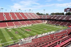 Stanford Stadium Seating Chart Stanford Stadium Section 216 Rateyourseats Com