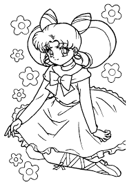63 Dessins De Coloriage Fille Manga Imprimer Sur Laguerche Com