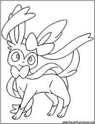 Small Picture Pokemon Eevee Evolutions Coloring Pages all art Pinterest
