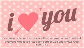 everyone who loves has been born of and knows whoever does not love does not know because is love 1 john 4 7