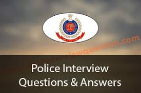 Police Interview Questions And Answers Police Interview Questions Traffic And Common Police