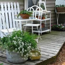 charming shabby chic decorating ideas blending shabby chic outdoor furniture patio furniture and pots with flowers charming outdoor furniture design