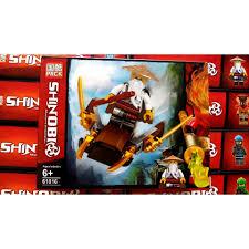 Đồ chơi lắp ráp non lego ninja xếp hình ninjago, rắn, sư phụ Wu season phần  11 PRCK 61016 trọn bộ 8 hộp như hình. chính hãng 128,000đ