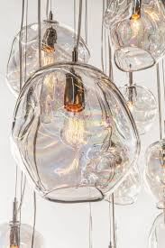 pendant lights john pomp hand blown glass infinity 11 w x with regard to decor 4