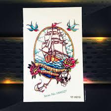 4836 руб 10 скидкатрендовая водонепроницаемая имитация тату на руку пиратский
