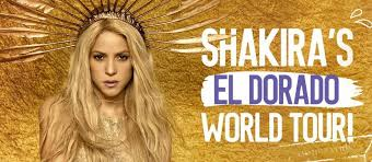 Resultado de imagen para shakira el dorado world tour
