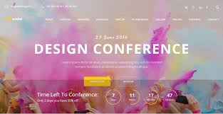 Event Website Template Classy 28 Best Responsive Event Website Templates 2818 Colorlib