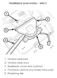 replace 12 heated seat heated cooled seat jeep garage jeep in the seat cushions themselves and fans but the wiring for the heating elements would probably be different the vented seat pad and the heated seat