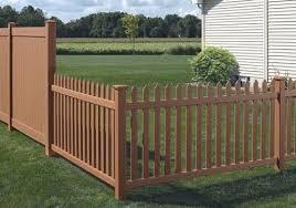 white fence panels. Tan White Fence Panels