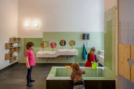 Beautiful Day Care Interior in Simple and Natural Design Daycare