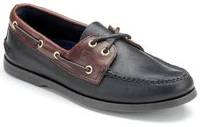 sperry sperry authentic original black amaretto boat shoe men s