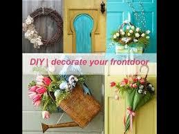 front door decorationfront door decorations  DIY Home Decoration  YouTube