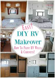 Easy RV Remodeling Instructions RV Makeover REVEAL Must Have Mom Fascinating Modern Bedroom Paint Model Remodelling
