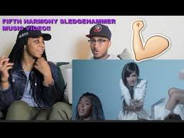 sledgehammer fifth harmony music video. couple reacts : fifth harmony \ sledgehammer music video