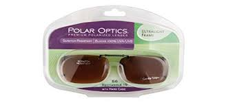 Polar Optics 56 Rec 15 Ultralight Frame Driving Lenses With Hard Case