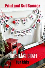 Merry Christmas Banner Print Christmas Crafts For Kids Merry Christmas Banner Christmas