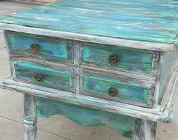 teal color furniture. distressed furniture blue rockstar glam house white turquoise side table funiture image gallery teal color