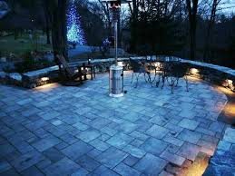 landscape wall lighting landscape lighting installed as we built a natural stone wall in ma landscape landscape wall lighting