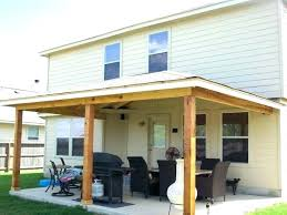 how to build a patio cover attached to house large size of to build a covered