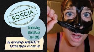 Boscia blackhead removal mask