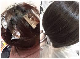 髪の赤みが出やすい髪にはハイライトでつくる透明感アッシュグレーが