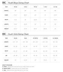 Dc Snow Pants Size Chart Dc Boys Banshee Youth Pant