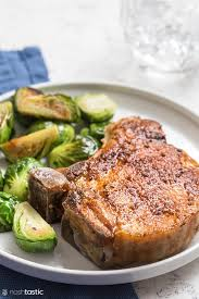 easy air fryer pork chops keto paleo