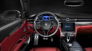 New Maserati Quattroporte Interior Features