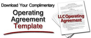 template for llc operating agreement llc operating agreement free operating agreement