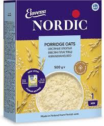 <b>Nordic хлопья</b> овсяные, 500 г — купить в интернет-магазине ...
