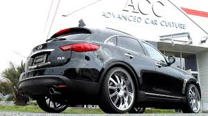 2010 INFINITI FX35 airrunner airsuspension systems - YouTube