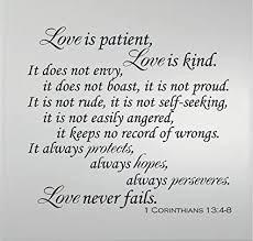 Corinthians Quotes Love Is Patient Hover Me Interesting Love Is Patient Love Is Kind Quote