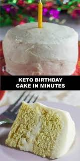 The Worlds Most Delicious Keto Birthday Cake In Minutes Need A