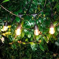 Wifi Outdoor Lights Fule Smart Outdoor Led String Lights 48ft Weatherproof Dimmable Outdoor Lights With Wifi Control Ios Android Compatible With Amazon Alexa 24