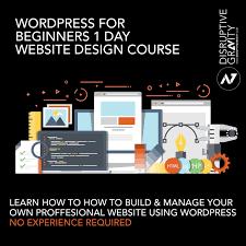 Winchester Website Design Beginners Wordpress Course Winchester Hampshire April 12th 2017 Disruptive Gravity