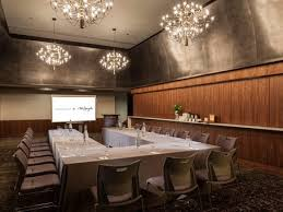 northern lights dining table base dark  dining table w led lights event spaces meeting rooms downtown seattle