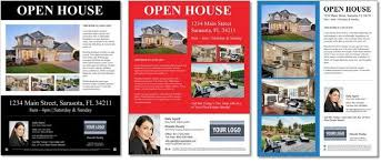 open house flyers template top 25 real estate flyers free templates