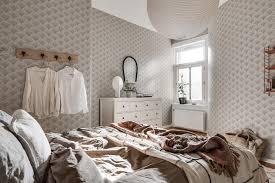 Deze Slaapkamer Heeft Een Mermaid Behang Om Bij Weg Te Dromen Roomed