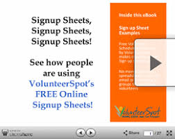 Make A Sign Up Sheet Examples Of Online Sign Up Sheets From Signup Com Signup Com