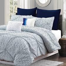 large size of blue batik 7pc 100 cotton and white comforter set 6970422430294 spo teal bedding