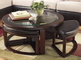 coffee table with ottoman seating solid wood coffee tables coffee table with stools underneath
