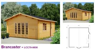 Wooden Games Room The Log Cabin Company 25